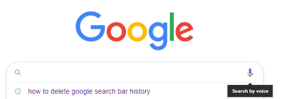 what was my last search